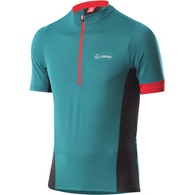 Löffler Pure Half-Zip Bike Jersey Men, pine